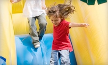 $6 for Inflatable Play Time with One Bag of Popcorn and a Soda at Monkey Joe's (Up to $13.18 Value)