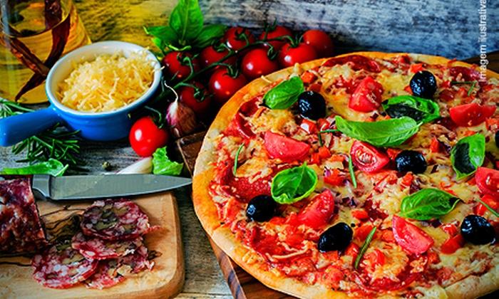 Faenza - Rio de Janeiro: Faenza – Barra da Tijuca: rodízio de pizza para 1 pessoa, por R$ 16,90