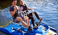 $24 for a Two-Hour Water-Bike Rental Two from Vancouver Water Adventures ($49.28 Value)