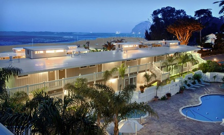 Stay at Inn at Morro Bay in Morro Bay, CA. Dates into August.