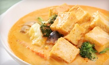 Thai Cuisine at Kao Tong Modern Thai Restaurant (Half Off). Two Options Available. 