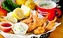 $10 for $20 Worth of Sustainable Seafood at Skippers 