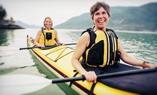 2-Hour Paddleboard Rental for 1 or 2 or 2-Hour Single- or Tandem-Kayak Rental from Balboa Fun Tours (Up to 53% Off)