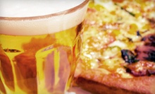 One or Two Pizza-and-Pitcher Packages with Large Pizza and Pitcher of Beer at O'Keefe's Pub (Up to 51% Off)