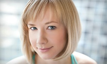 Haircut Packages from Robyn Brooks and Morgan Brannon at Studio A (Up to 70% Off). Three Options Available.