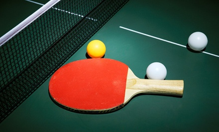 Open-Play Session, 60-Minute Table Rental, or 60-Minute Lesson at Chicago Slam Table Tennis Club (Up to 71% Off)