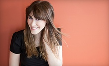 Haircut Package with Blow-Dry, Style, and Optional Partial or Full Highlights at Avanti Salon West (Up to 56% Off)