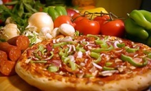 Pizza Dinner for Two or $11 for $22 Worth of Pizzeria Food at Lamppost Pizza 