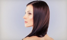 Haircut and Color Retouch or Keratin Treatment, Haircut, and Optional Highlights at Hair Las Olas (Up to 60% Off)
