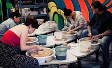 Wheel-Thrown Ceramics Class for One or Five at Clay in Long Beach (Up to 54% Off)