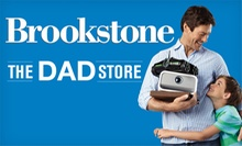$25 for $50 Worth of Unique Father's Day Gifts and Other Innovative Products from Brookstone. Valid Online and In-Store.
