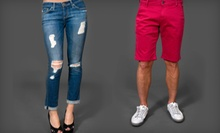 $50 for $100 Worth of Designer-Brand Denim Jeans, Crops, Capris, and Select Shorts at Scottsdale Jean Company