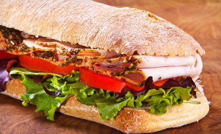 $7 for $15 Worth of Sandwiches and Paninis at Carytown Bistro &amp; Coffee House