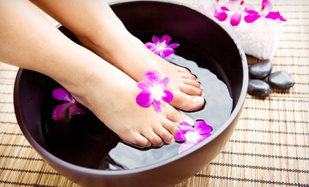 One or Two Ionic-Detox Foot Spa Treatments at Lavender Stone Massage, LLC (51% Off)