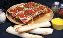 $10 for $20 Worth of Pizza, Breadsticks, and Salad Bar at Noble Romans Pizza