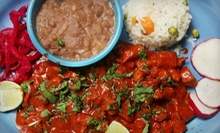 Mexican Meal with Appetizers, Tacos, and Margaritas for Two or Four at El Comal (Up to 52% Off)