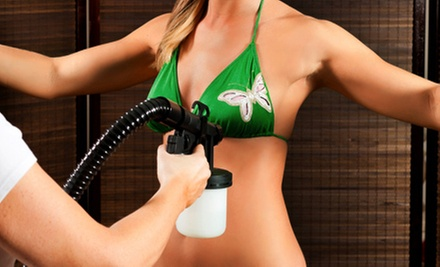 One, Three, or Five Spray Tans at Magic Tan (Up to 63% Off)