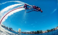 $99 for a 30-Minute Flyboarding Experience from Hydro X Flyboarding ($199 Value)