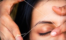 One, Two, or Three Eyebrow- and Upper-Lip-Threading Sessions at Essence of India Hair Boutique (Up to 56% Off)