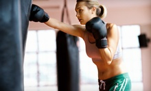 One or Two Months of Kickboxing, Boxing, and Weight Conditioning at 4 Ever Fitness (81% Off)