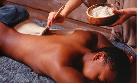 $89 for One Body Wrap and Signature Facial at a. Salon Galleria & Spa ($185 Value)