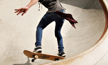 5  Two- or Three-Hour Skate-Park Sessions at Landslide Skate Park in Clinton Township (Up to55% Off)