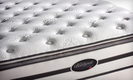 Full-, Queen-, or King-Size Simmons Mattress Set at Atlantic Bedding and Furniture (Up to 63% Off)