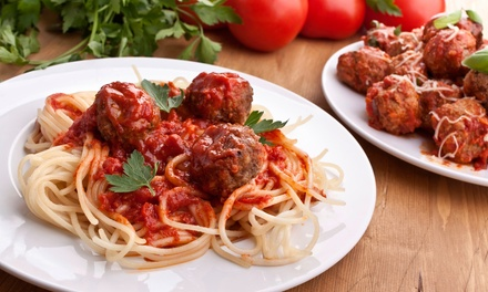 Italian Meal for Two or Four, or Take-Out Food at Lil Italy Bistro (Up to 63% Off)
