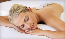 One or Two Hot-Stone Massages with Wild Rose Facial Cleanse and Gift Card at The Spa Room (Half Off)