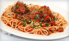 Italian Cuisine, $7 for $15 at Lunch or $10 for $20 at Dinner at Riggio's Restaurant
