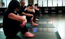 5 or 10 Yoga Classes at Rise Yoga Studio (Up to 77% Off)