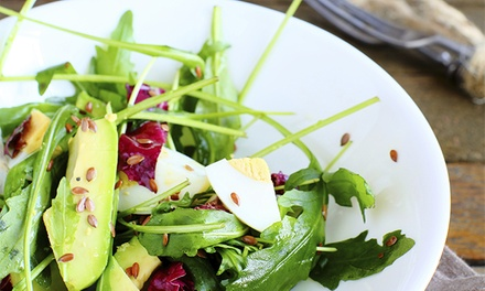 $12 for $20 Worth of Healthy and Organic Food for Dinner at Tao Natural and Organic Foods Cafe
