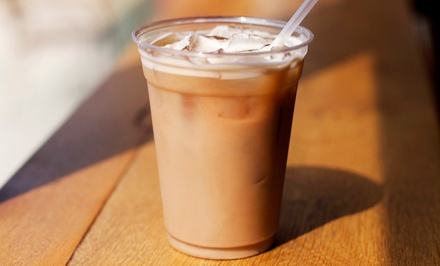 5 or 10 Groupons, Each Good for $4 Worth of Coffee and Café Food at Bikini Coffee (Up to Half Off)
