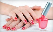 Shellac Spa Manicure with Polish Removal, or a Spa Mani-Pedi at Southwest Nails (Up to 54% Off)