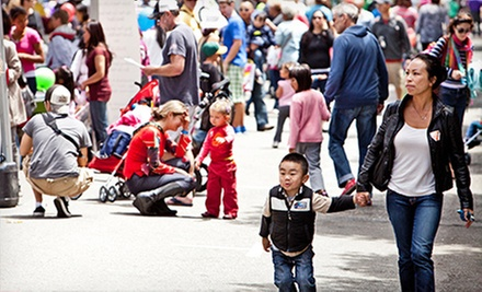 KidsBash! Street Festival for One or Two Children at Ghirardelli Square on Saturday, June 15 (Up to 53% Off)