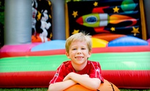 5 or 10 All-Day Bounce Adventures or Party Package for 10 or 20 at Extreme Fun's Inflatable Playland (Up to 65% Off)