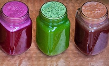 Two Large Juices or One-, Three-, or Five-Day Juice Cleanse from Juicey Lucy's (Up to Half Off)