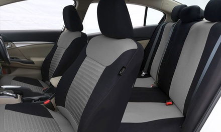 Corduroy 3D Air Mesh Airbag-Compatible Seat Covers