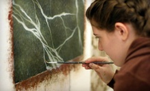 $75 for a One-Day Art Class at The Faux School ($150 Value)