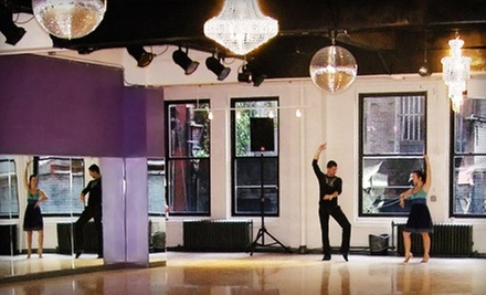 Four or Eight Group Dance Classes, or Two Private Dance Lessons at Manhattan Ballroom Dance (Up to 69% Off)
