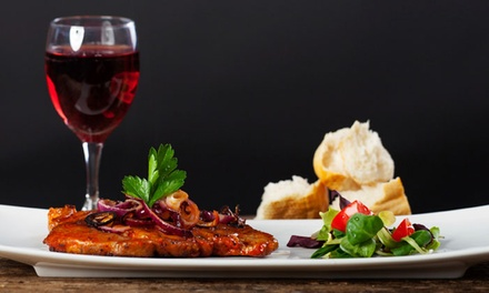 Wine and Dinner Package for Two or Four at Elk Creek Vineyards (Up to 55% Off)
