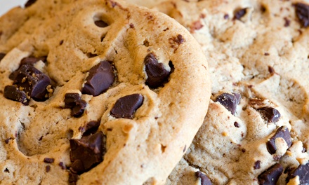 Cookie Cake, Cookies, or Party Tray with Cookies or Brownies at Mrs. Fields (Up to 53% Off)