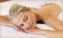 Hot-Stone Massage with Option of Paraffin Pedicure at Moksha Spa & Wellness Center (Up to 54% Off)