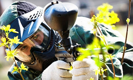 Paintball with Marker, Mask, and 200 Paintballs for One, Two, or Five at Texas Paintball (Up to 54% Off)