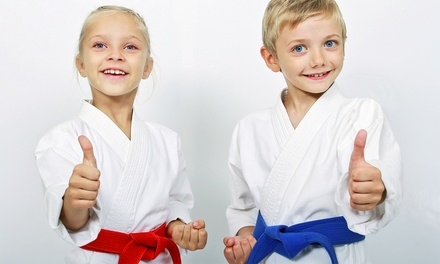 Four Weeks of Beginner Karate Classes with Uniforms for One or Two from Kids Love Martial Arts (Up to 89% Off)