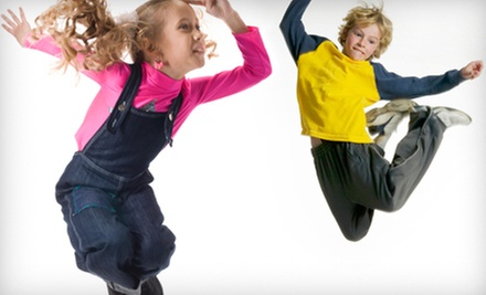 One-Hour Indoor Trampoline Session for Two or Four at SkyWalk (Half Off)