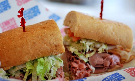 Subs and Drinks or Party Platter at Lenny's Subs (Up to 50% Off)