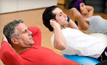 10 or 20 Fitness Classes at Try City Fitness (Up to 85% Off)
