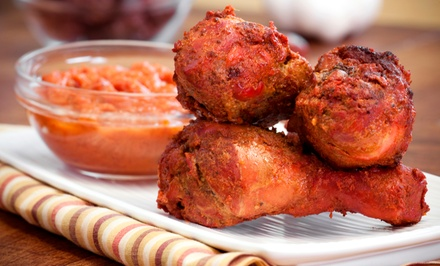 Indian Cuisine for Dine-In or Takeout at Jolly's Indian Bistro (Up to 50% Off). Three Options Available.