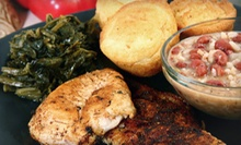 Soul Food at Mama Lee's Soul Food (Half Off). Two Options Available.